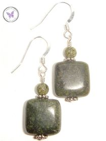 Russian Serpentine Earrings